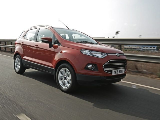 Ford EcoSport Front Three Quarter View