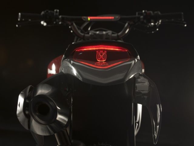 Hasqvarna Tail light