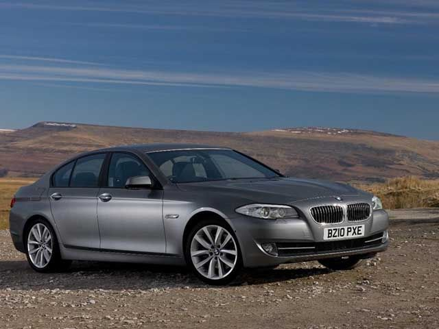 ... the BMW 520d Efficient Dynamics Saloon has a longer final drive ratio