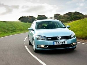 The Volkswagen Passat Estate BlueMotion