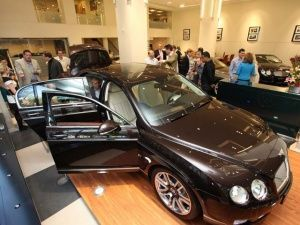 Linley for Bentley Continental Flying Spur