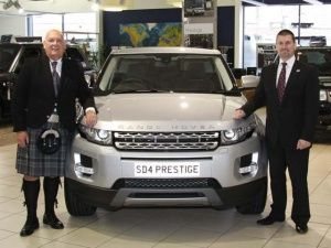 Range Rover Evoque is Scottish Car of the Year 2011