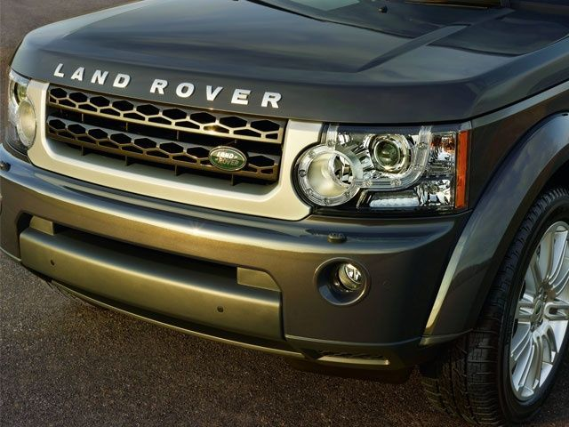 Land Rover Discovery HSE Luxury Edition Front Detail