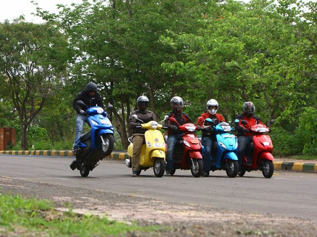 100cc to 110cc Scooter Shootout