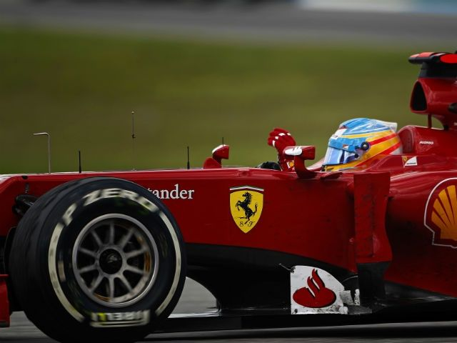 Fernando Alonso wins the 2012 German Grand Prix