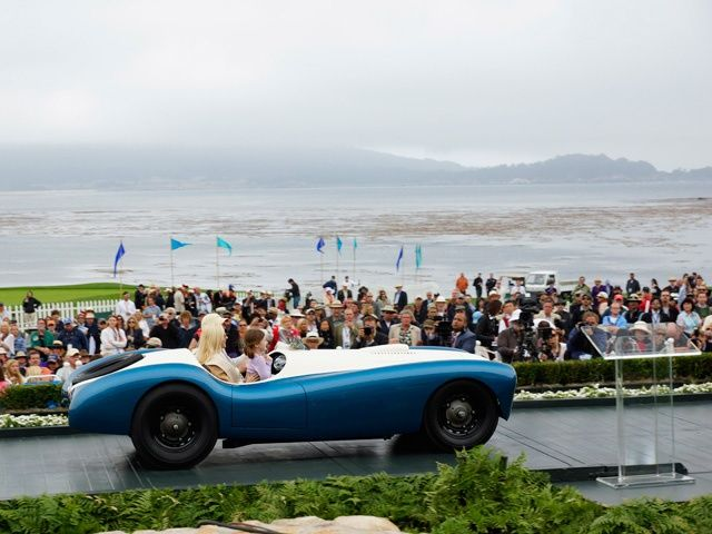 Pebble Beach Concours dElegance 2012