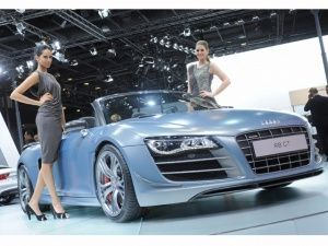 Audi at the 2012 Qatar Motor Show