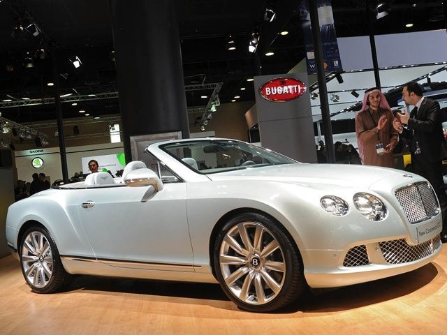 Bentley at the 2012 Qatar Motor Show