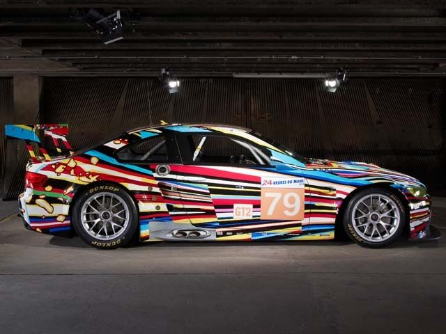 2010 BMW M3 GT2 by Jeff Koons