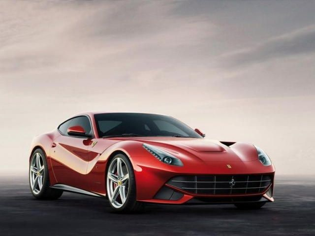 The Ferrari F12 Berlinetta