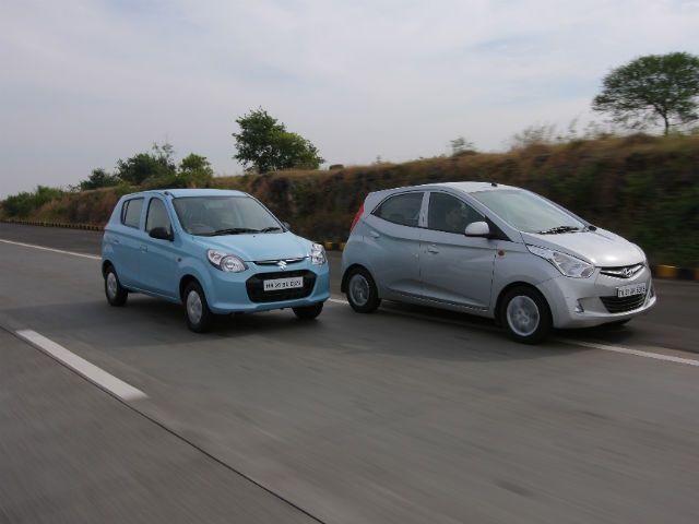 Maruti Suzuki Alto Hyundai Eon Comparision