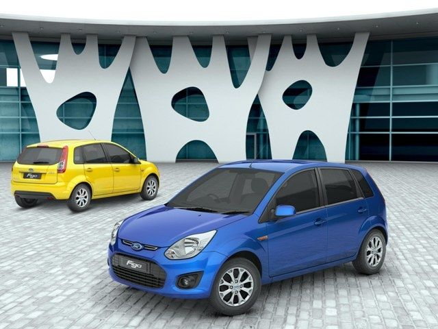 Facelifted Ford Figo new colour options