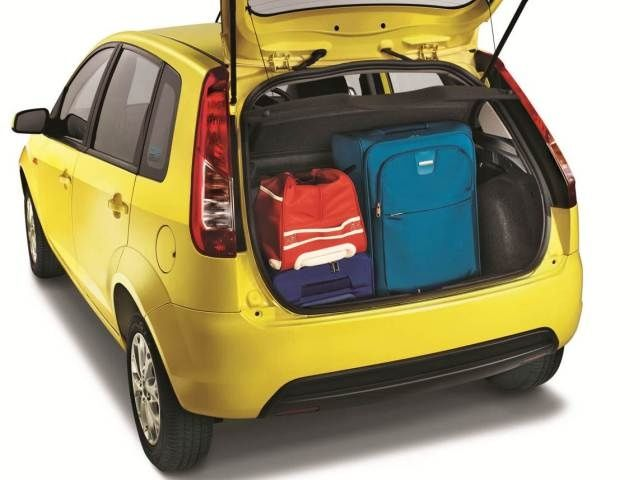 Facelifted Ford Figo boot space