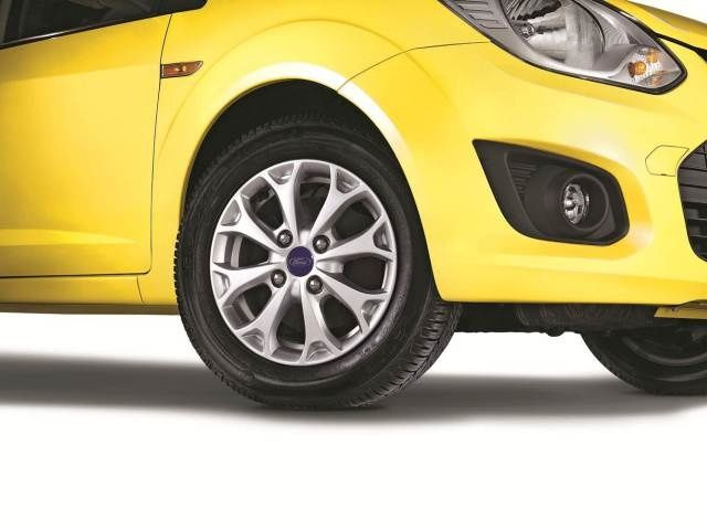 Facelifted Ford Figo alloy wheel