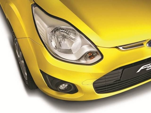 Facelifted Ford Figo headlamp cluster
