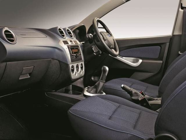 Facelifted Ford Figo interiors