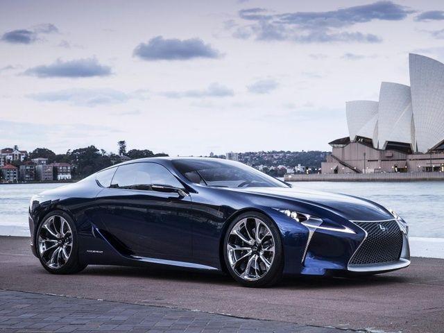 Lexus Lf Lc Blue Concept 4 640X480