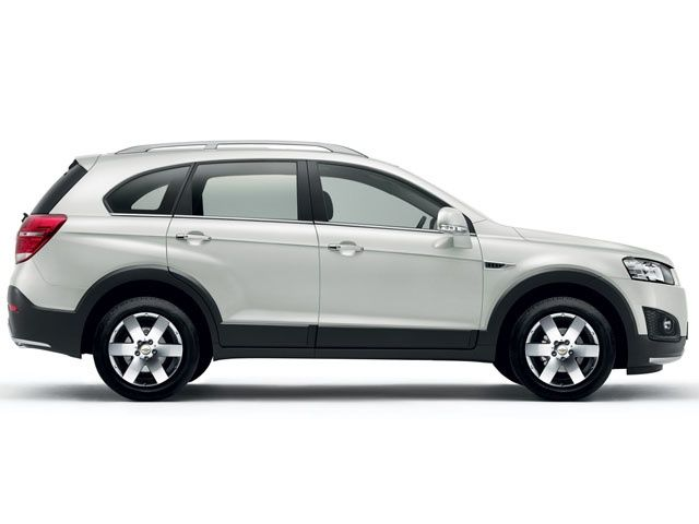 New Chevrolet Captiva side profile