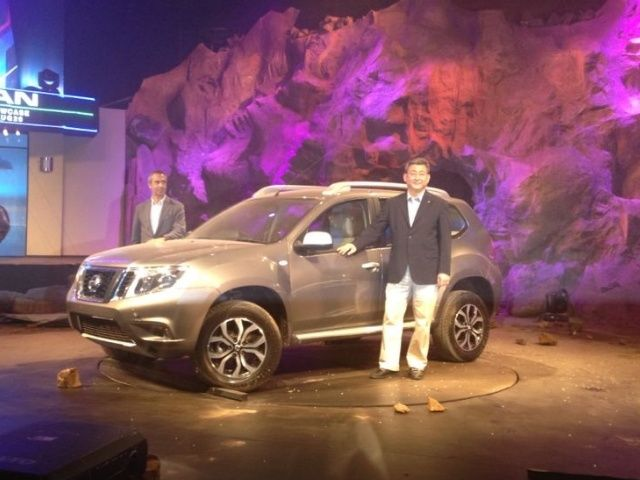 Nissan Terrano unveiling in India
