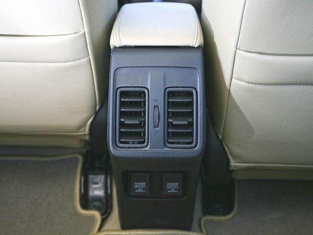 2014 Honda City rear AC vents