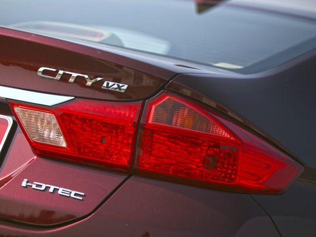 2014 Honda City badges