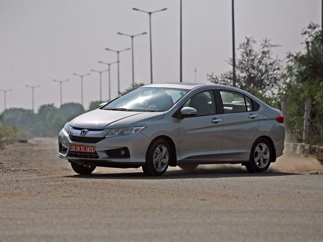 2013 Honda City powerslide