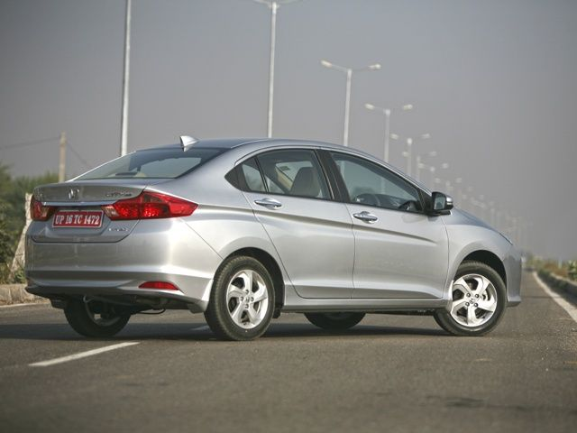 2014 Honda City Rear