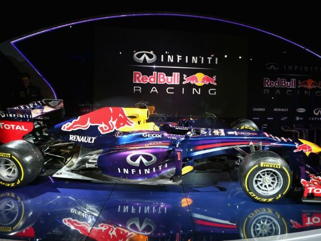 Red Bull Racing RB9 launch