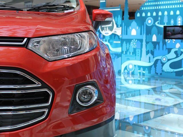 Ford EcoSport fog lamp