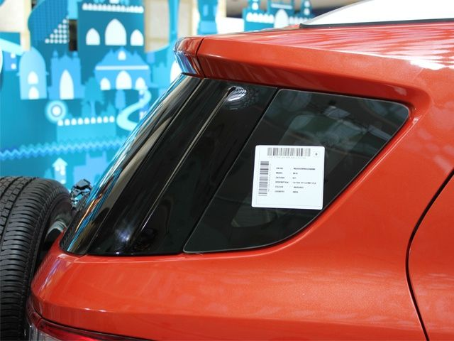 Ford EcoSport rear quarter glass