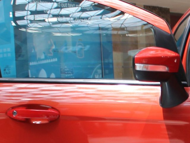 Ford EcoSport door handle and rear view mirror