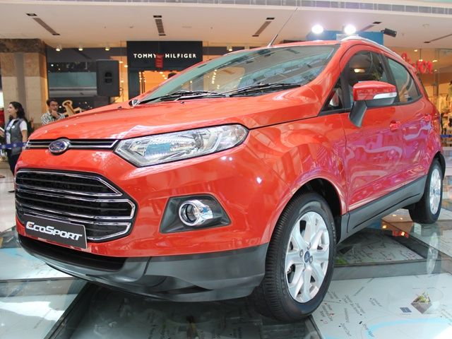 Ford EcoSport front three quarter