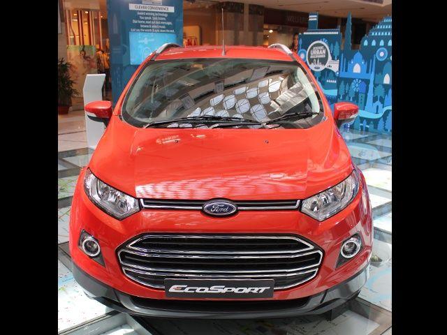 Ford EcoSport overhead