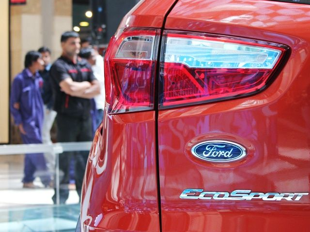 Ford EcoSport tail light