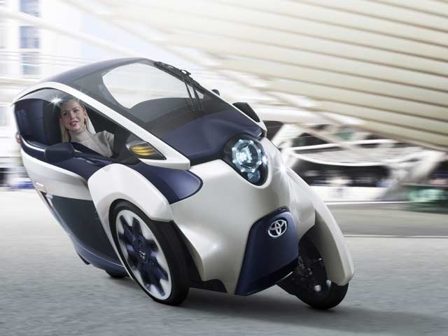 i-ROAD personal mobility vehicle
