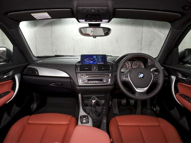 BMW 1 Series hatchback interior