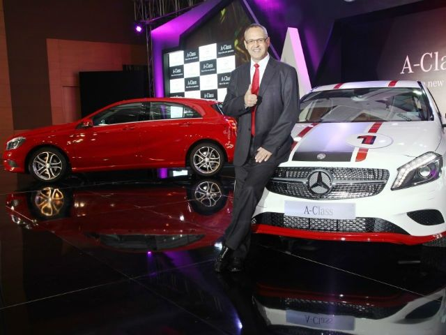 Mercedes-Benz A-Class launch