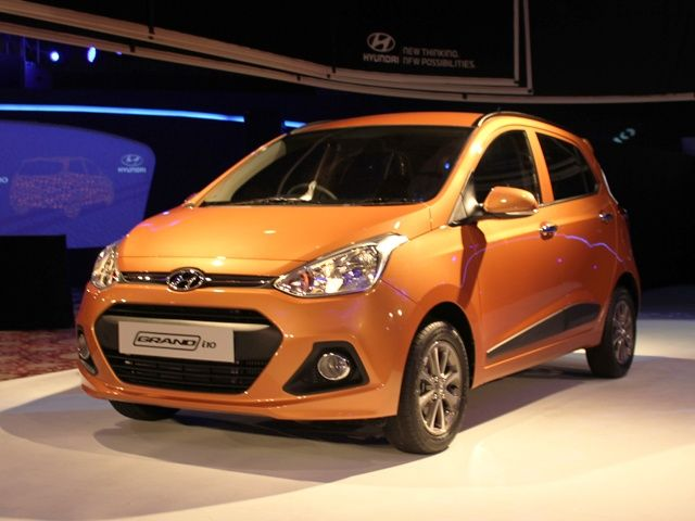 Hyundai Grand i10 Front Three Quarter