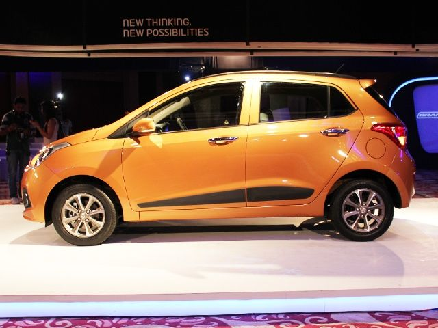Hyundai Grand i10 Side Profile