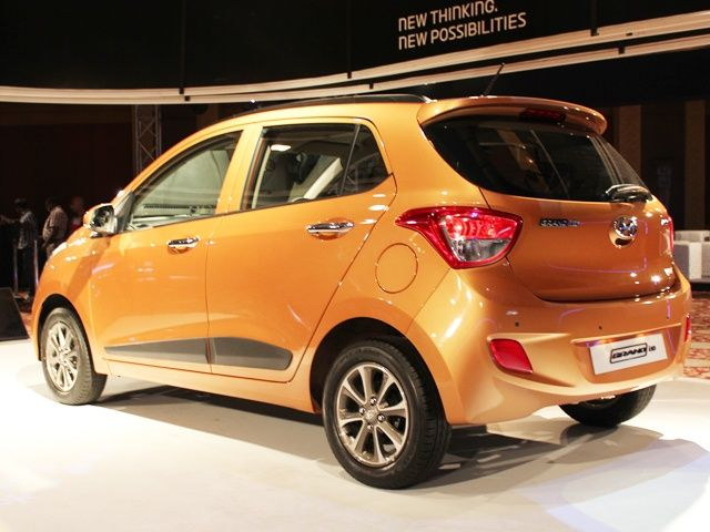 Hyundai Grand i10 Rear Three Quarter