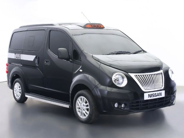 Nissan Evalia As London Taxi In Pictures Slide 1