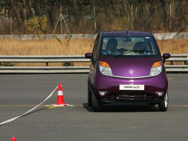 Tata Nano Twist: First Drive Pics!