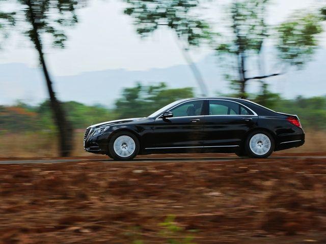 2014 Mercedes-Benz S-Class Diesel S350 CDI side