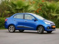 Hyundai Xcent in action