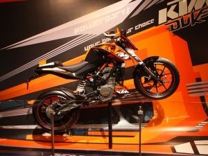 HIgh on style: KTM 125 Duke