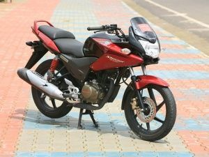 The Honda CBF Stunner Fi