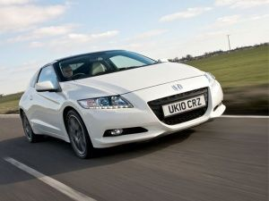 Sporty Hybrid: The Honda CR-Z