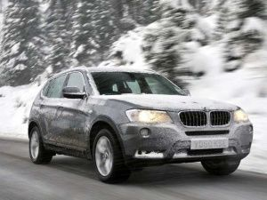 BMW winter tyres 2011
