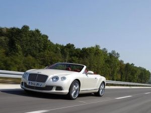 Bentley Continental GTC Silk White