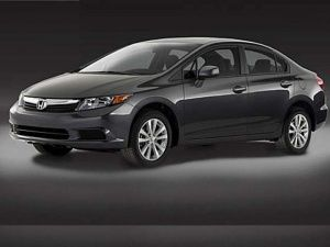 The new Honda Civic 2012